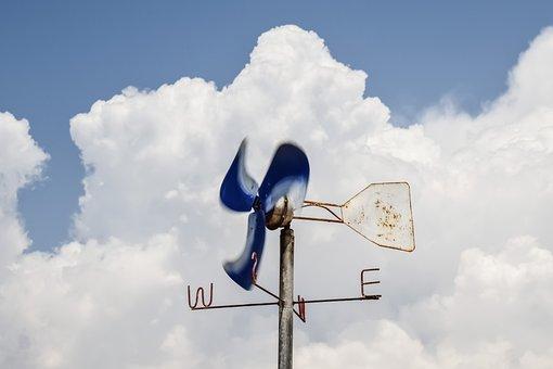 Anemometer, Wind Gauge, Wind, Weather, Speed, Equipment