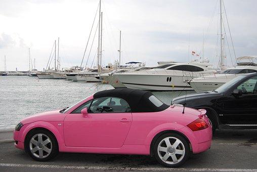 Audi, Car, Rosa