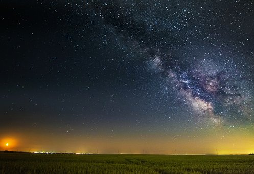 Sky, Stars, Night, Space, Astronomy, Dark, Blue, Galaxy