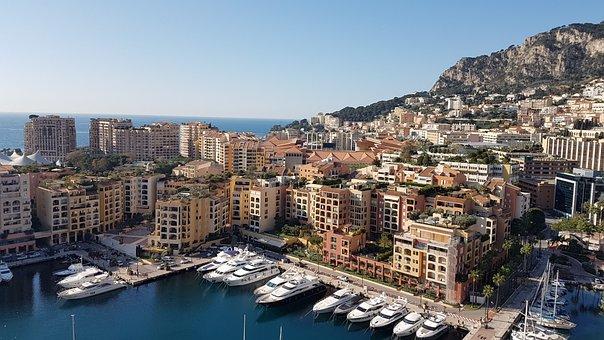 Montecarlo, The Principality Of Monaco, Boats, City