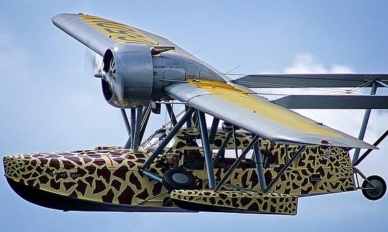 Flying Giraffe, Flying Boat, Sikorsky S-39, Amphibian