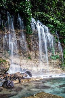 Nature, El Salvador, Waterfalls, Leaves, Falls, Tourism