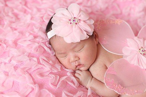 Baby, Pink, Little Angel