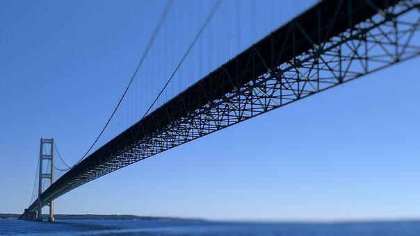 Mackinac Bridge, Mackinaw City, Mackinac, Mackinaw