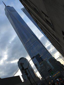 Memorial, World, Trade, Center, New York, Manhattan