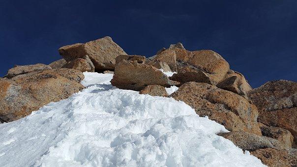 Cosmiques Ridge, Granite, Ridge, Rock, Mountains