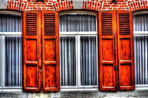 Shutters, Window, Rue Du Feyt