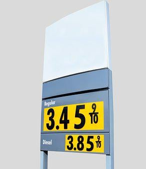 Gas Price, Sign, Fuel, Fuel Pump, Gas, Gasoline, Oil