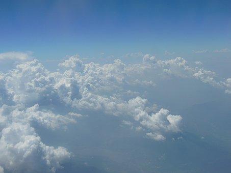 Sky, Clouds, Landscape, Cloud, Heavens, Blue, Weather