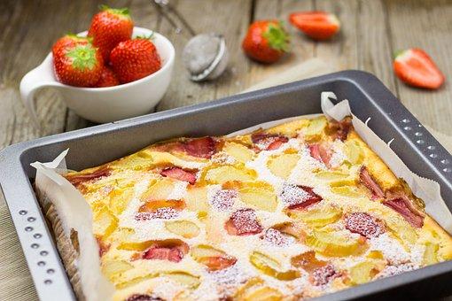Cake, Strawberry, Strawberries, Fruits, Fruit