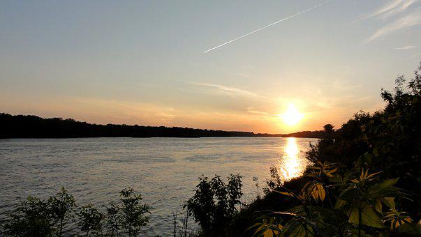 Wisla, View, The Sun, Water, River, Poland, Sunny, West