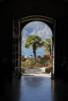 Garda, Malcesine, Italy, Lake, At Malcesine, Water