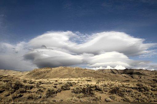 Clouds, Bluff, West, Sky, Nature, Landscape, Outdoor