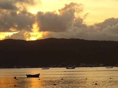 By Sunsets, Dusk, Twilight, Landscape, Sunset, Nature