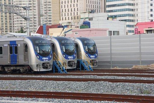 Korea, Republic Of Korea, Railway, Electric Motors