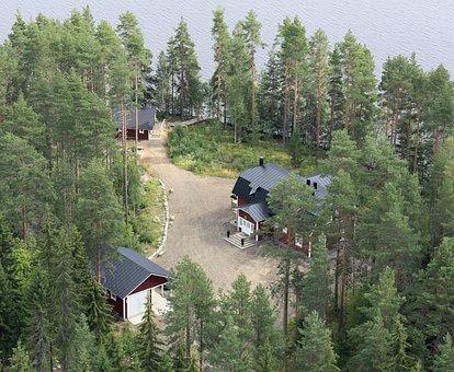 Tuomarniemi, Tuomarniemi Manor, Estates In Finland
