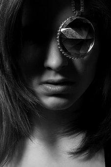 Portrait, Fiction, Exposure, Black And White, Fine Arts