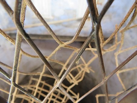 Net, Iron, Cave, Pattern, Metal, Grid, Mesh, Industrial