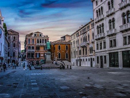Venezia, Venice, Italy, Italian, Italia, Piazza, Square