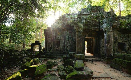 Siem Reap, Summer, Light