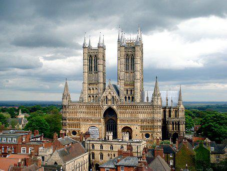 Lincoln, Cathedral, Landmark, Lincolnshire, Medieval