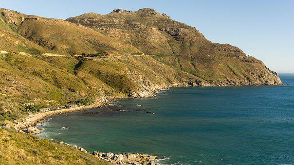 Hout Bay, South Africa, Cape Town, Sea, Ocean, Nature