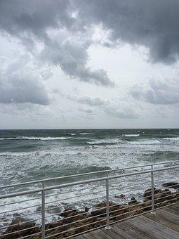 Storm Cloud, Atlantic Ocean, Ocean, Outdoor, Clouds