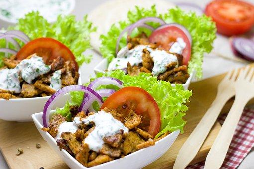Doner Kebab, Meatless, Vegetarian, Vegan, Snack