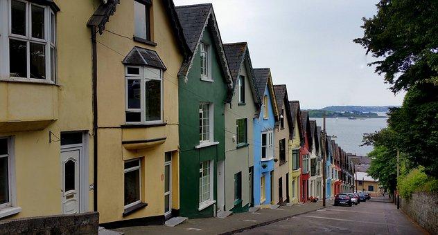 West, View, House, Terrace, Cobh, Cork, Ireland