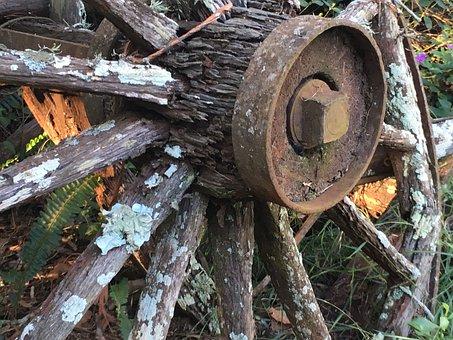 Wagon Wheel, Rustic Wheel, Rustic, Wagon, Wheel, Old