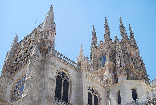 Cathedral, Burgos, Architecture, History, Monument
