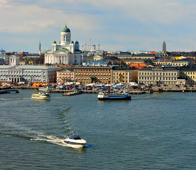 Helsinki, Cathedral, Church, Religion, Architecture