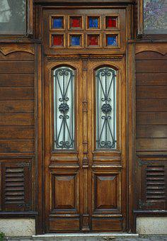 Door, Wood, Building, Home, Old, Architecture, Window