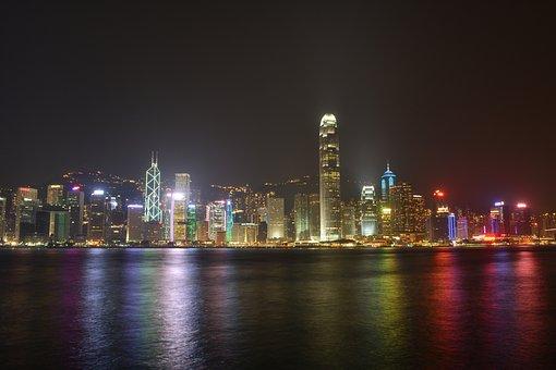 Hongkong, Victoria, Harbour, Asia, City, Cityscape