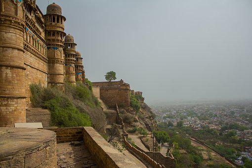 Rajasthan, Fort, Sand, India, Asia, Palace