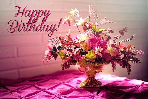 Happy Birthday, Birthday, Birthday Flowers
