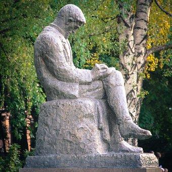 The Statue Of, Medická Garden, Kukučín, Bratislava