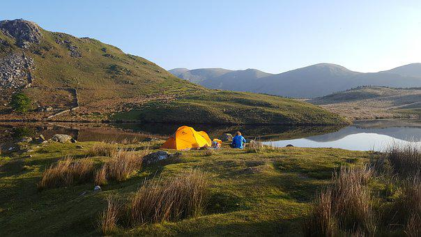 Lifestyle, Camping, Tent, Adventure, Travel, Nature