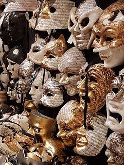 Venetian Masks, Mask, Criminal Case, Carnival