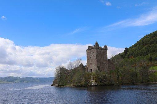 Urquhart Castle, Loch Ness, Scotland, Urquhart, Castle