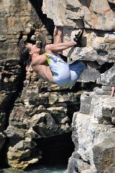 Free Climbing, Climb, Climber, Nature, Leisure