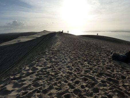 Dune Of Pilat, Dune, Sand, France, Pilat Dune