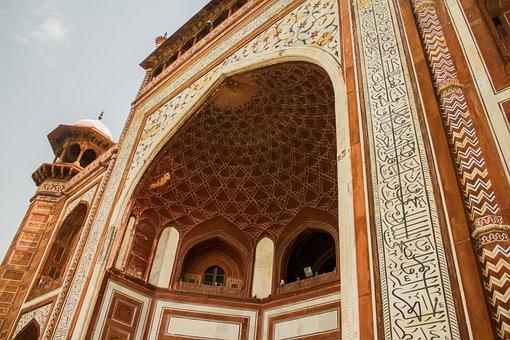 Taj Mahal, Gate, India, Heritage, Mahal, Taj