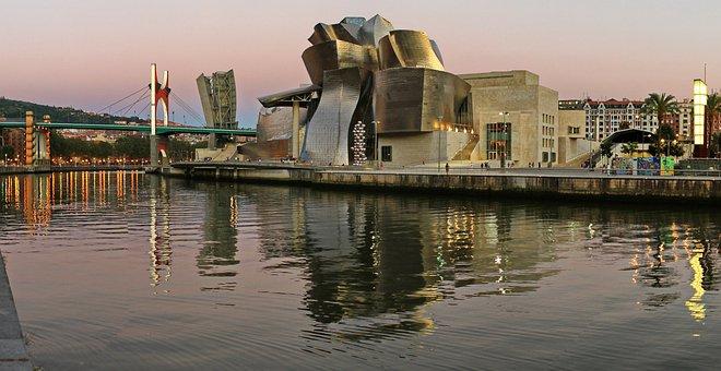 Museum, Guggenheim, Bilbao, Frank Gehry, Gehry, Ria