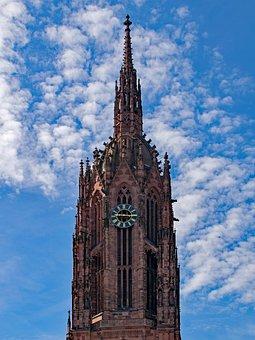 Frankfurt, Frankfurt Cathedral, Hesse, Germany, Dom