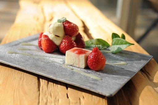Strawberry Dessert, Japanese-style Dessert