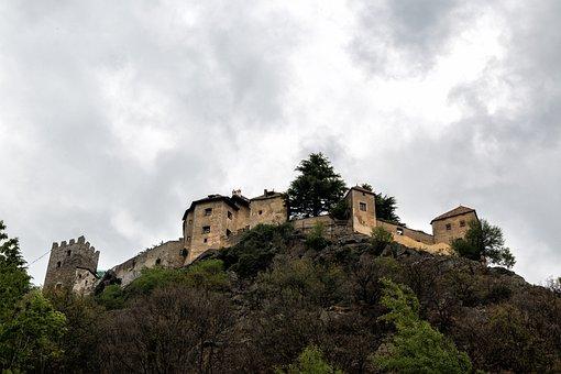 Castle, Fortress, Juval, Juval Castle, Val Venosta