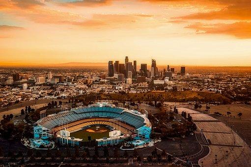 Los Angeles, California, Dodger Stadium, City, Urban