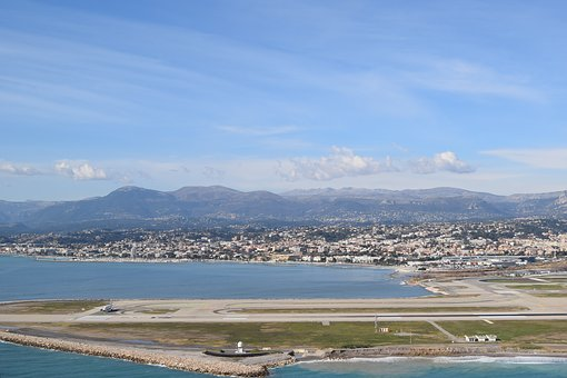 Airfield, South Of France, Monte Carlo, City, Tourism