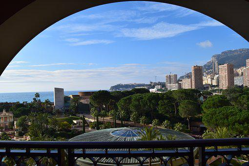 Monaco, Yacht, Monte Carlo, Balcony View, City, Tourism